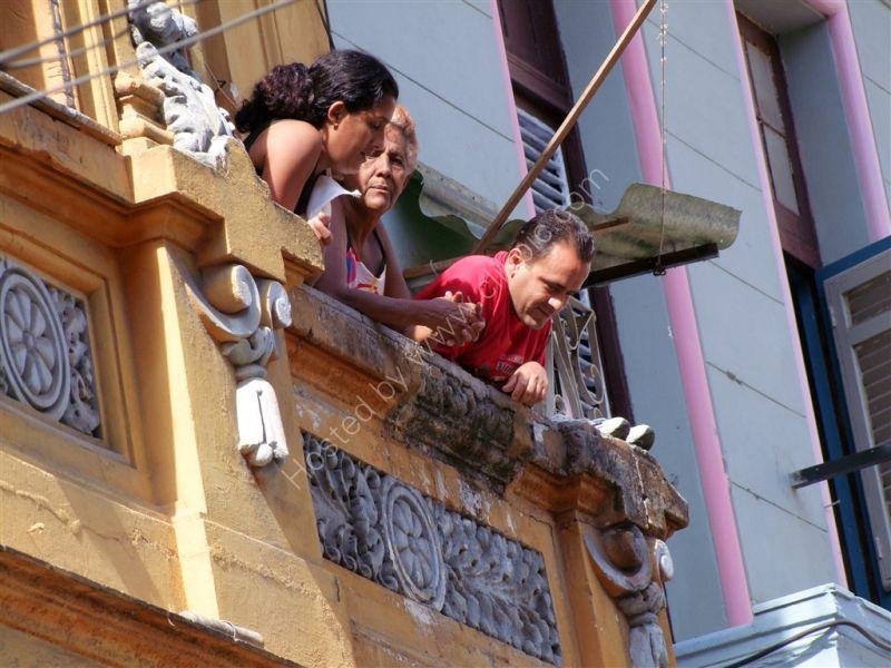 Cubans Hanging Out!, Obispo Street, Havana