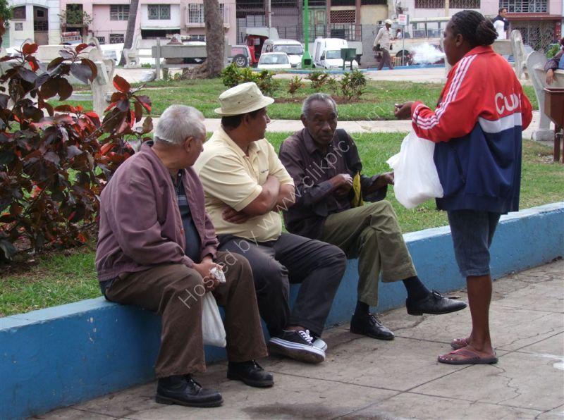 Cubans in Discssion!, Havana