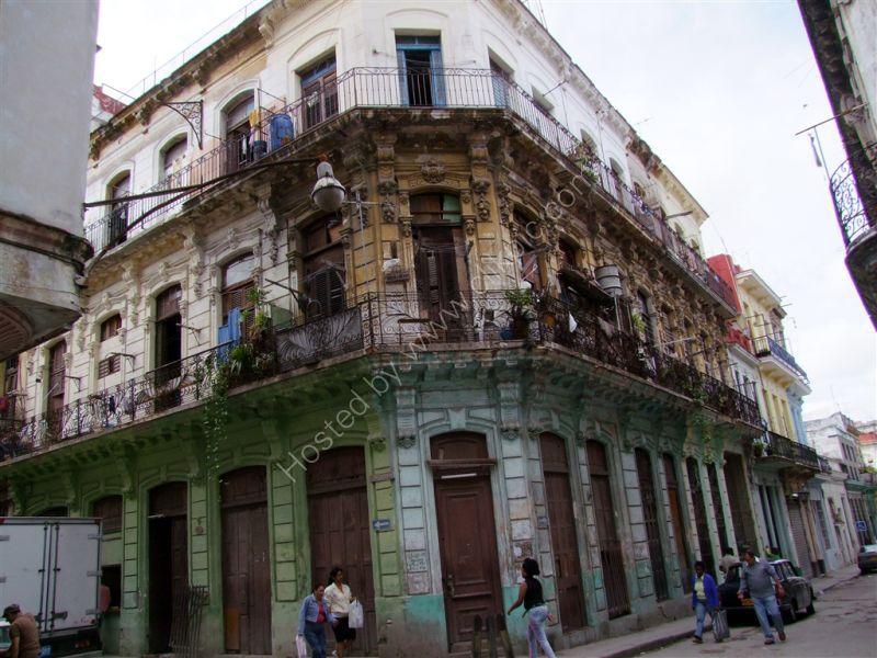 Dilapidated Building, Havana