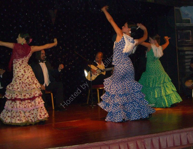 Flamenco Dancers, Hotel Paradisus Princesa del Mar, Varadero