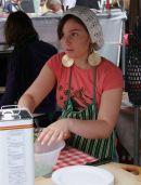 Food Vendor, Portobello Market