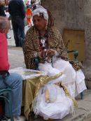 Fortune Teller, Cathedral Square, Havana