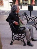 Spaniard deep in thought!, Fuengirola, Spain