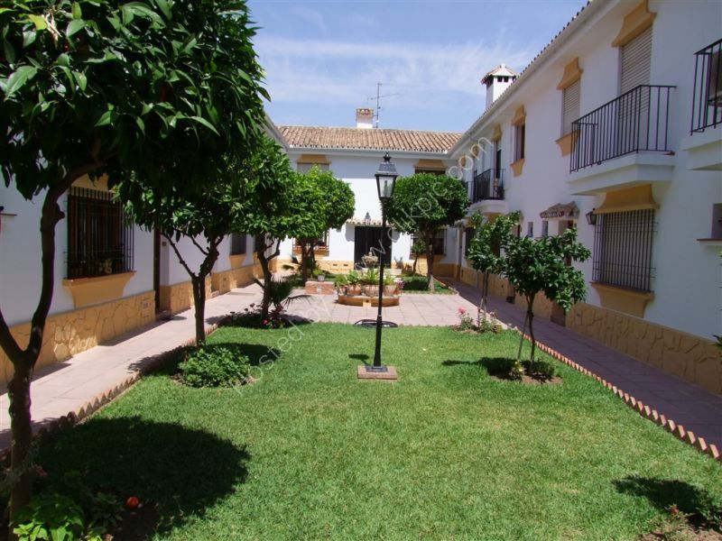 Courtyard, Centre of Fuengirola, Spain