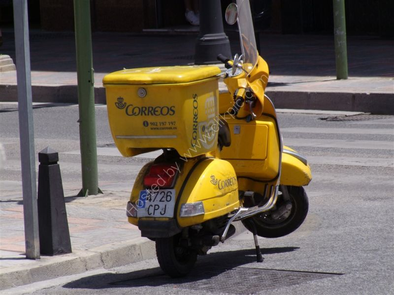 Post Office Scooter, Fuengirola, Spain