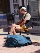 Weary traveller!, Fuengirola, Spain