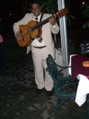 Guitar Player, La Mina Restaurant, Plaza de Armas, Havana