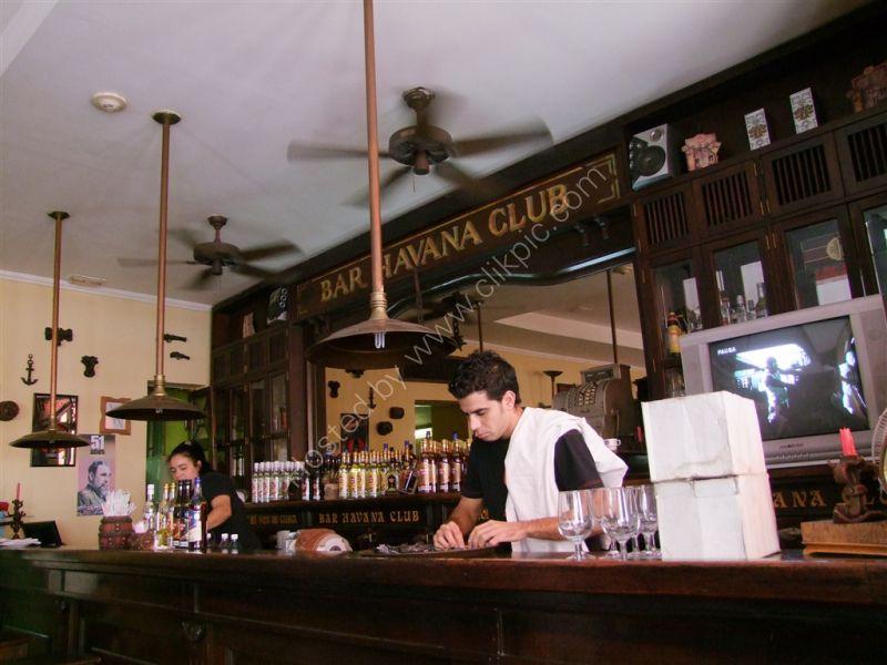 Havana Club Bar, San Pedro, Havana