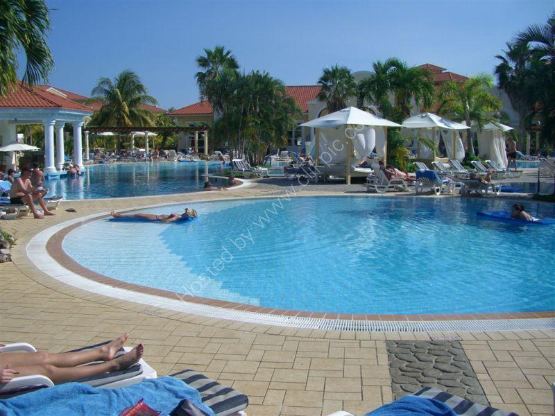 Pool Area, Hotel Paradisus Princesa del Mar, Varadero