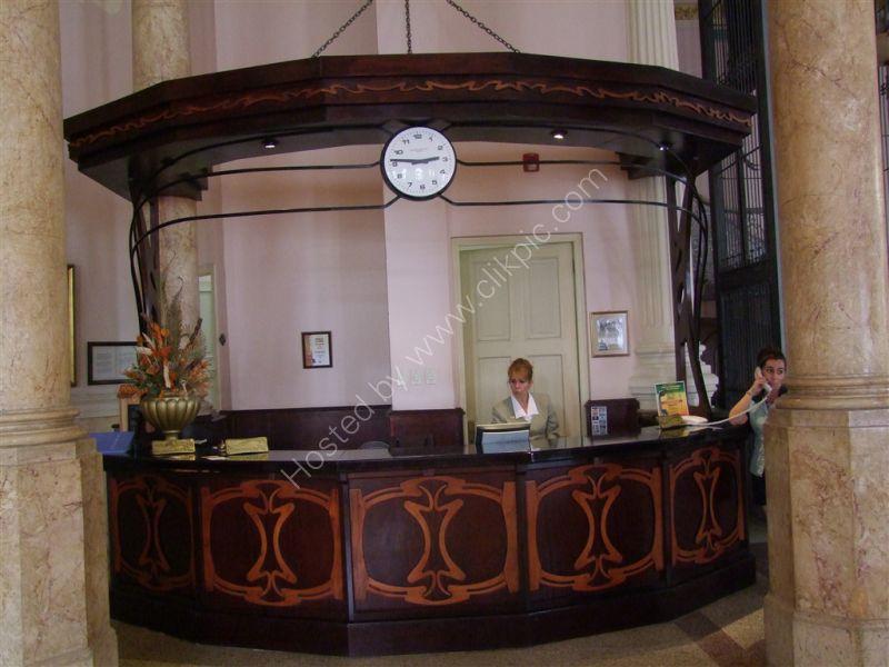 Art Deco Reception Desk, Hotel Rachel, Havana