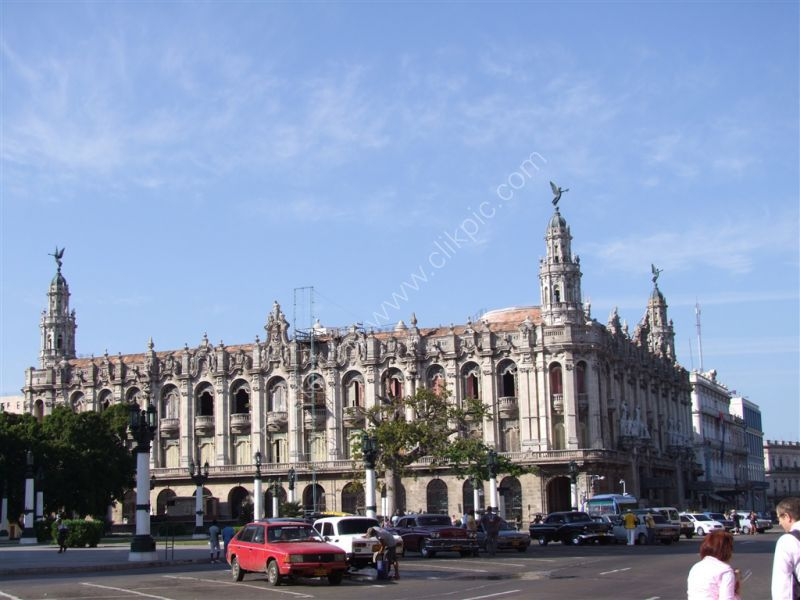 Historic Building, Central Park, Havana
