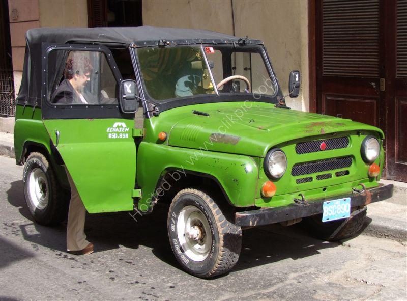 Unmarked Jeep