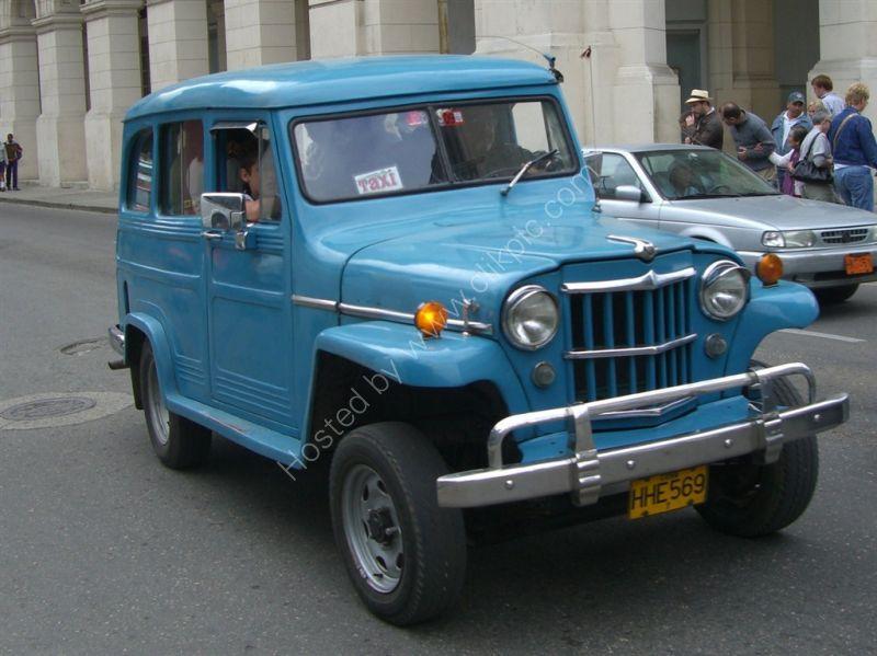 Jeep Taxi, Havana
