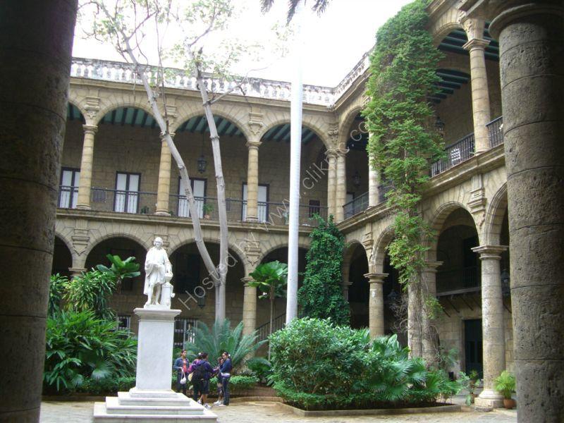 Courtyard, Book Museum, Plaza de Armas, Havana