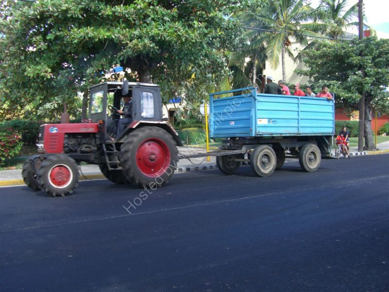 Local Transport, Belarus Tractor, Varadero