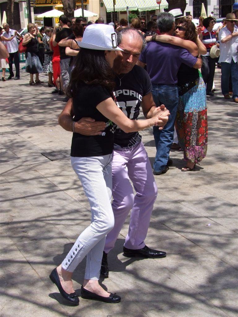 Tango in Plaza de la Merced, Malaga