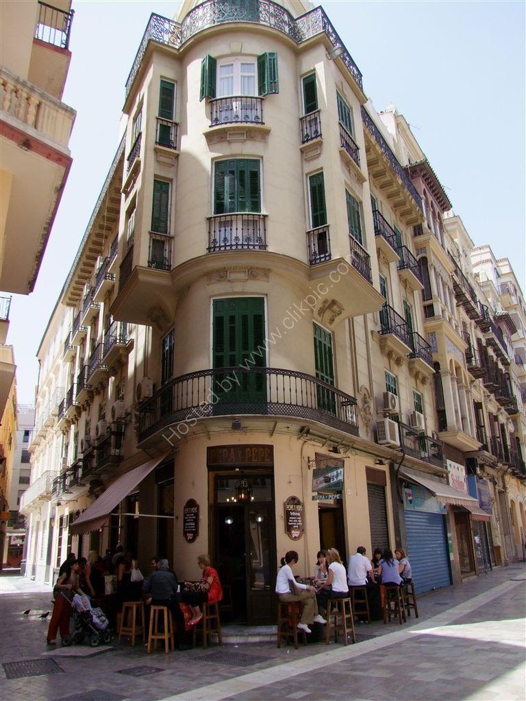 Building, Molina Lario, Malaga, Spain