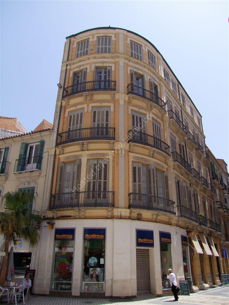 Building on Malina Lario, Malaga, Spain