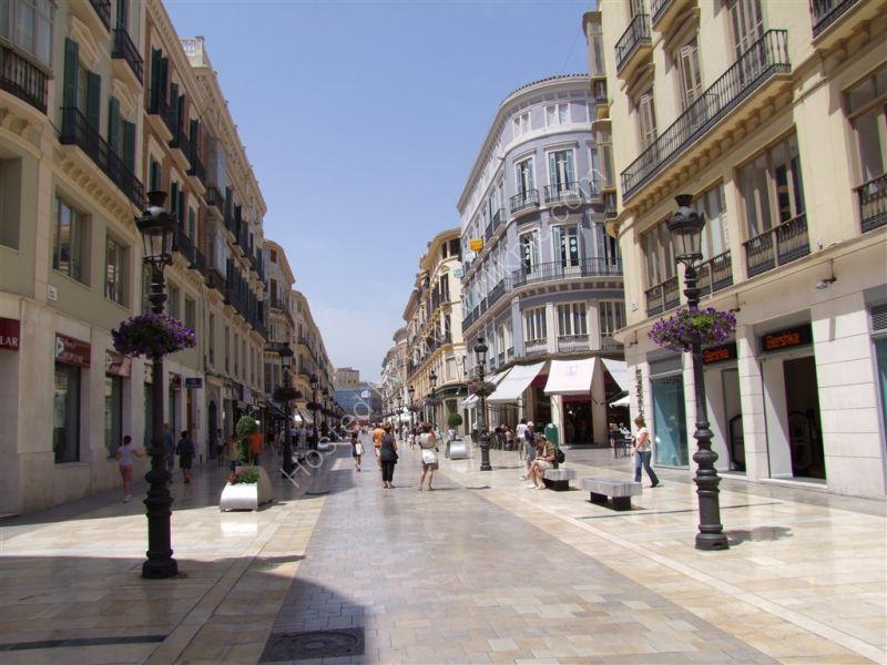 Main shopping street, Molina Lario, Malaga