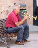 Street Musician, Malaga, Spain