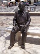 Statue of Picasso, Malaga, Spain