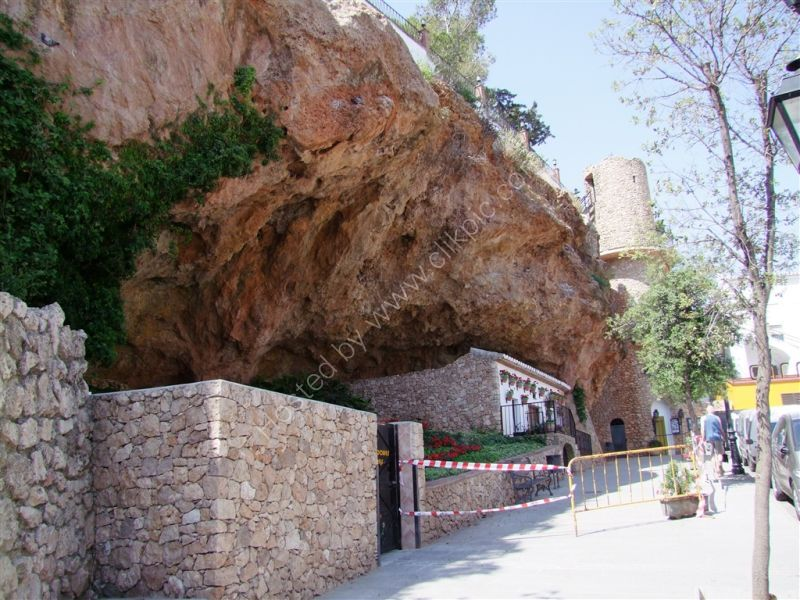 Rock on which Fortress Built, Mijas