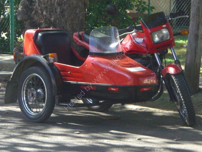 Chinese Motorcycle & Sidecar, Varadero