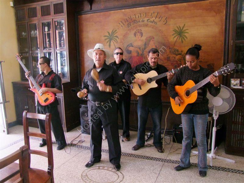 Havana Club Musicians, San Pedro, Havana