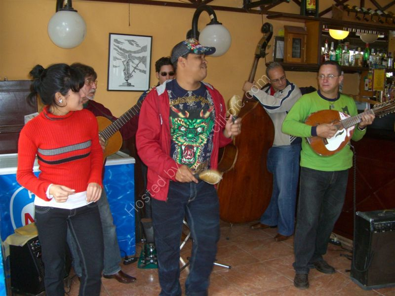 Musicians in a Bar, Obispo Street, Havana