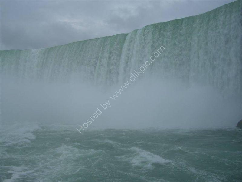Up close to Horseshoe Falls, Niagara Falls