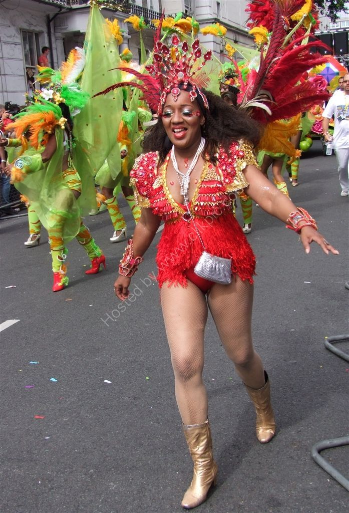 Enjoying the carnival! Nottinghill Carnival 2009