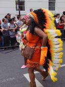 Red Indian Squaw, Nottinghill Carnival 2009