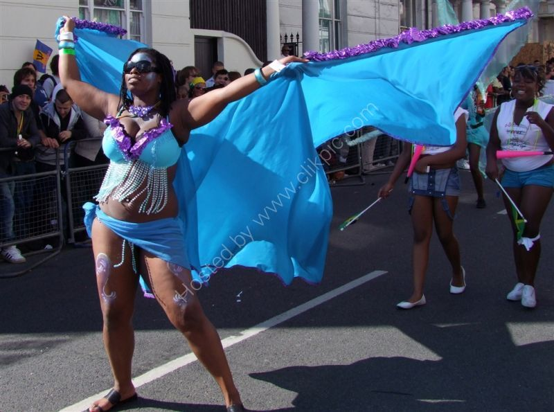 Flying! Nottinghill Carnival 2009