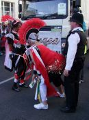 What the police have to put up with! Nottinghill Carnival 2009