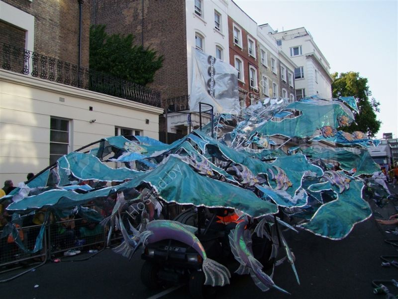 The sea and fish! Nottinghill Carnival 2009