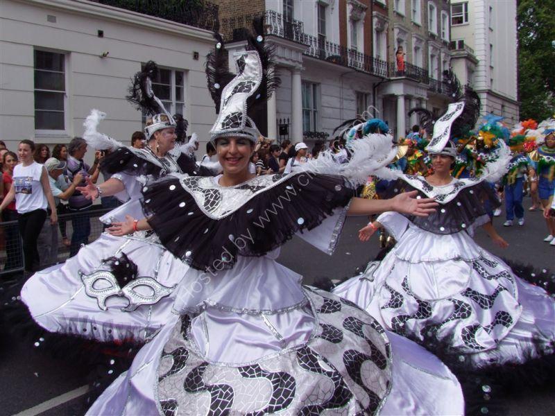 Dancers, Nottinghil Carnival 2009