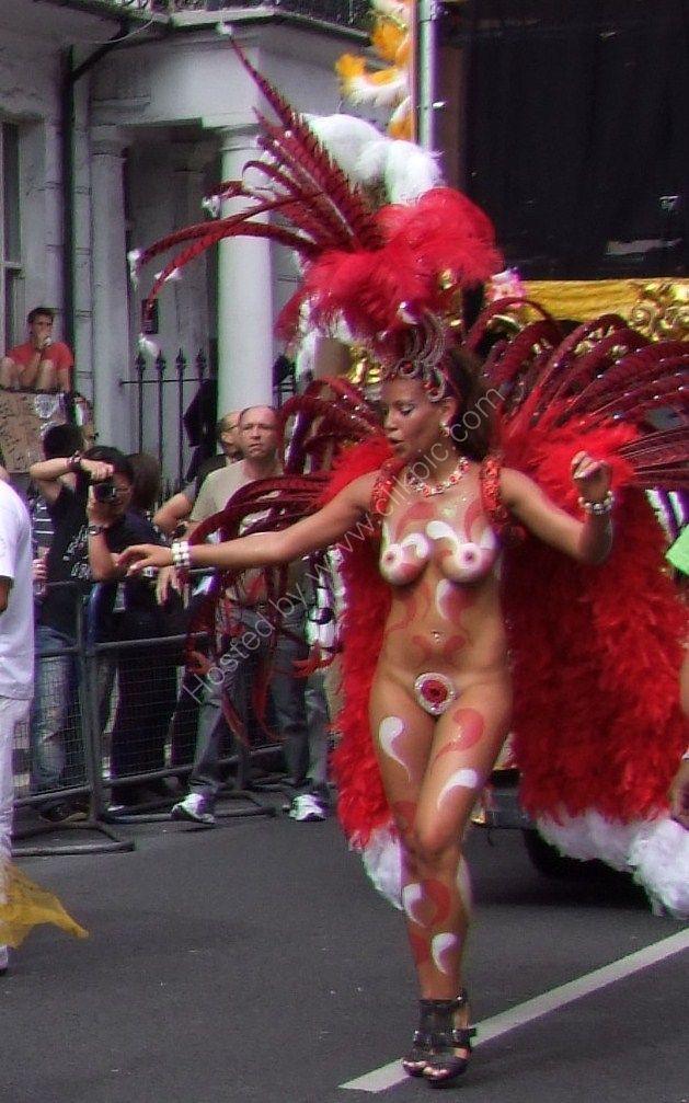 Ooh la la! Nottinghill Carnival 2009