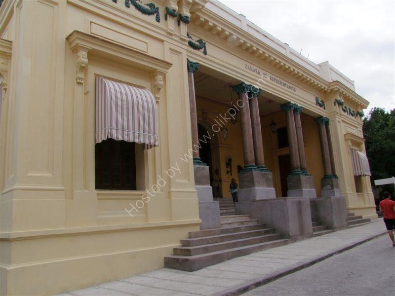 Old House of Representatives, Officios Street, Havana