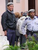 Cuban Policemen, Cathedral Square, Havana