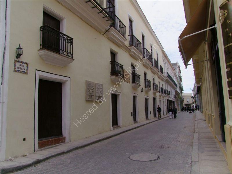 Reconstucted Street, Calle Muralla, Havana