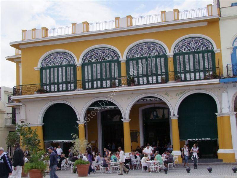 Restaurant, Plaza Vieja, Havana
