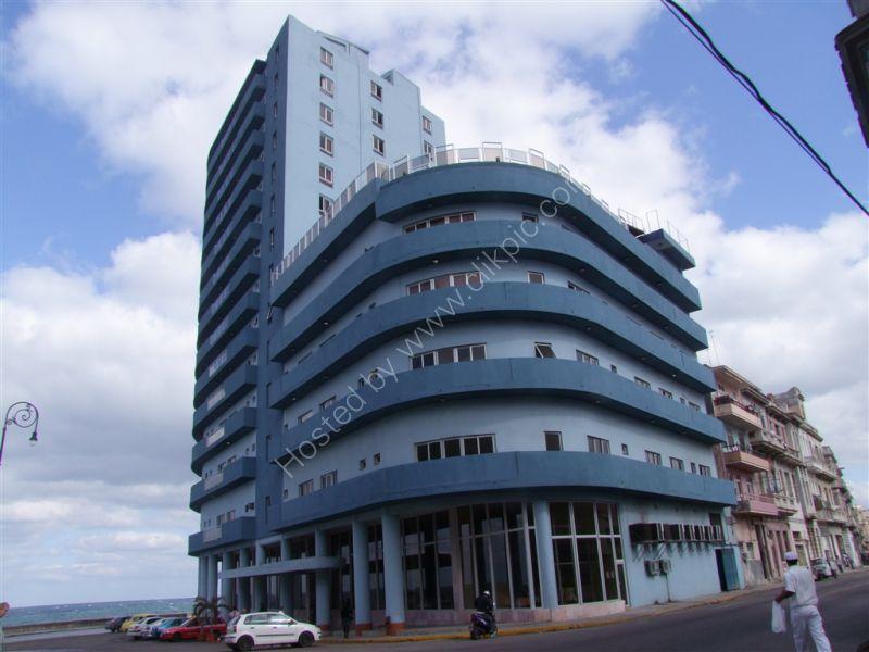 Restored Building, Avenue Antonio Maceo (Malecon), Havana