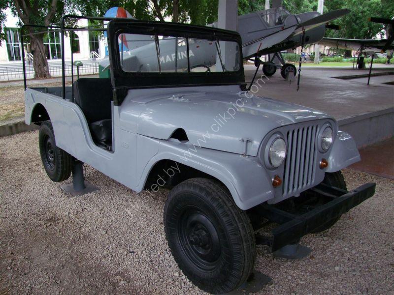 Che Guevarra's Jeep, Revolution Museum, Havana