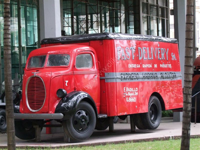 Delivery Van, Revolution Museum
