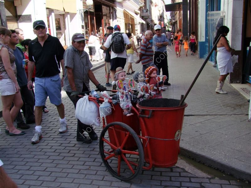Street Cleaner, Obispo Street, Havana