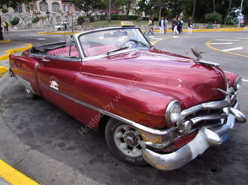 Taxi, Hotel National de Cuba, Havana