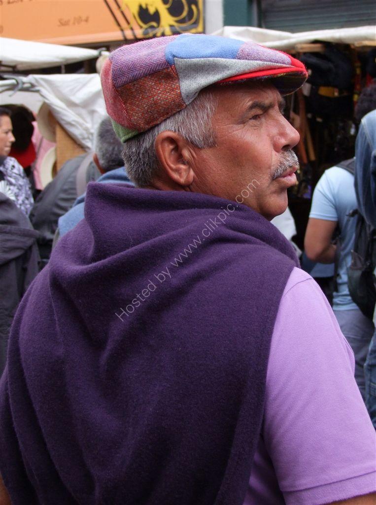 Tourist, Portobello Market
