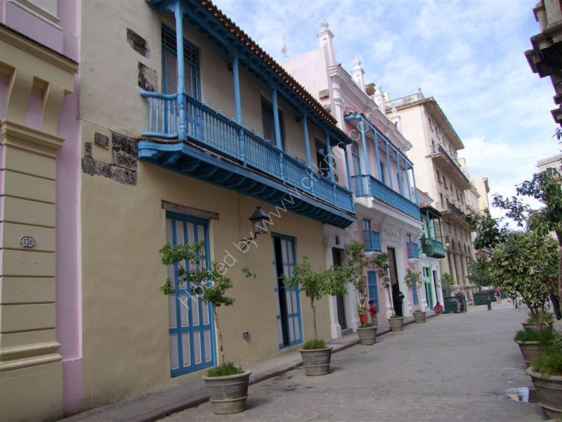 Traditional Refurbished Houses, Officios Street, Havana