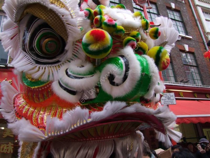 Lion Dance, Year of the Tiger, Chinese New Year, Soho, London