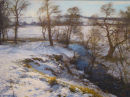 Winter Landscape near Cortachy. Oil on board. 59x44cm. SOLD